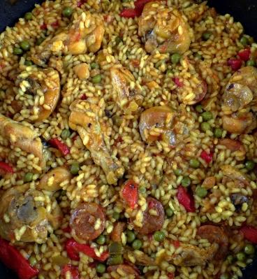 Pollo arroz D