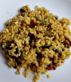 arroz setas d