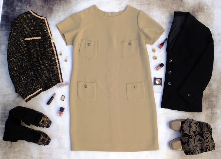 Vestido beig 1