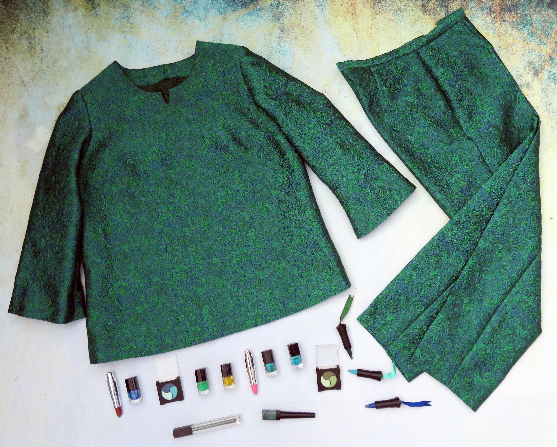 Blusón pantalón verde 2