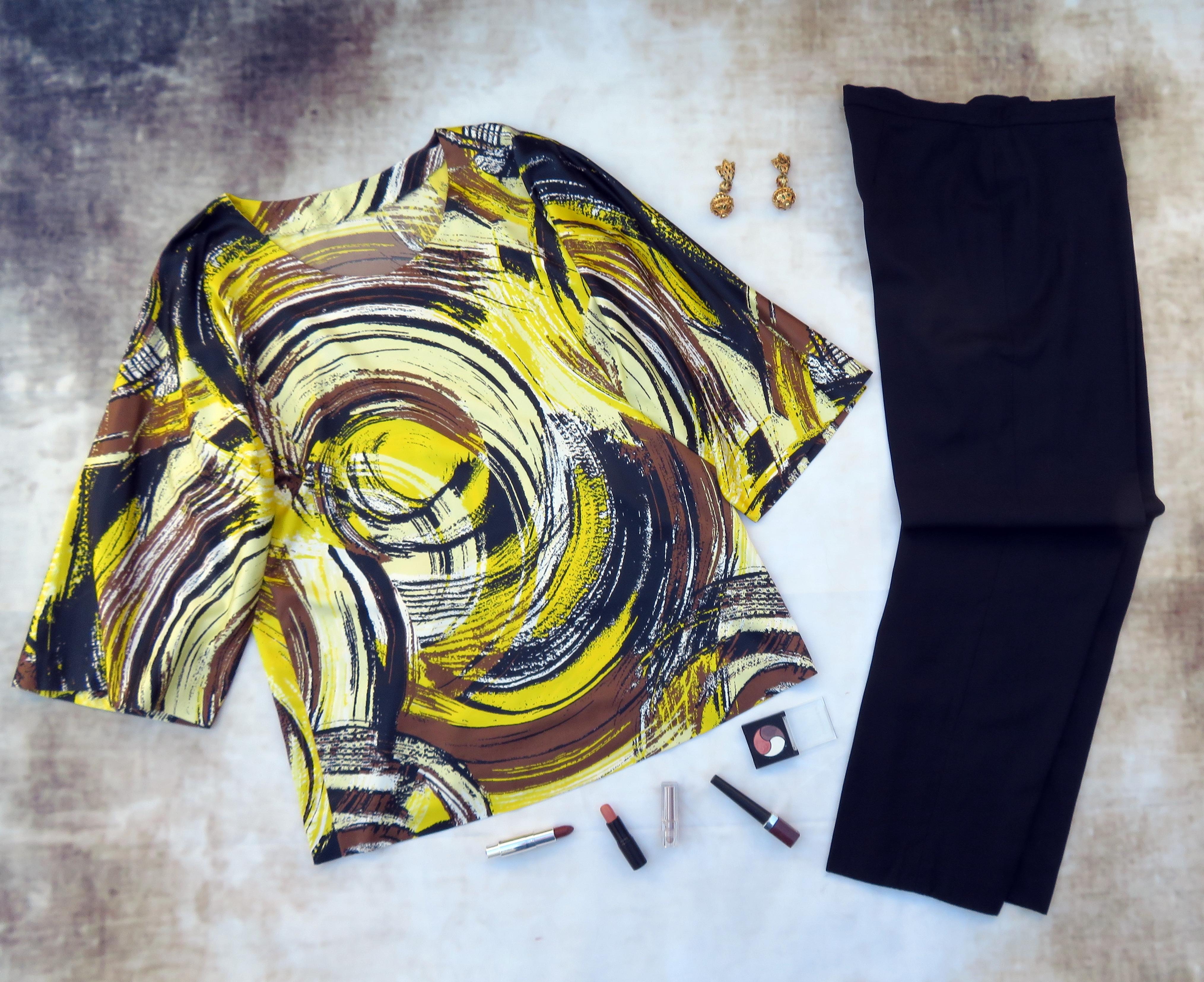 Pantalón marino blusón colores 2
