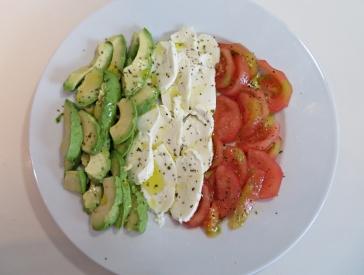 Ensalada tricolore 2