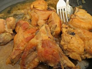 Pollo coñac 1