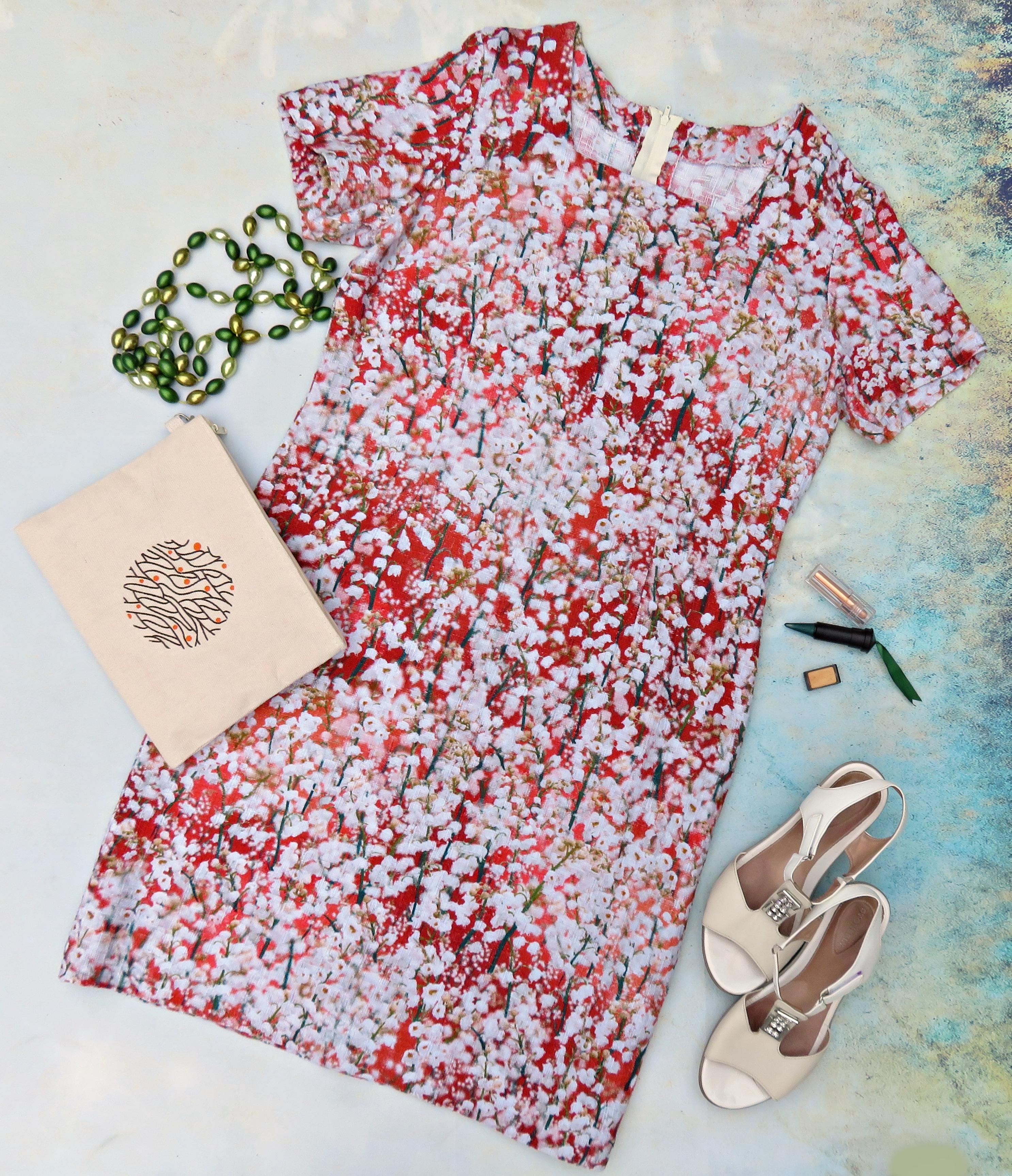 Vestido flores blancas 2
