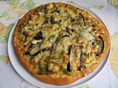 Pizza verduras asadas 2