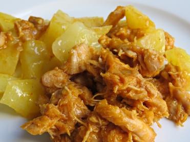 Pollo provenzal patatas 2