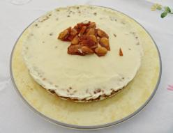 Tarta helada nata guirlache 2