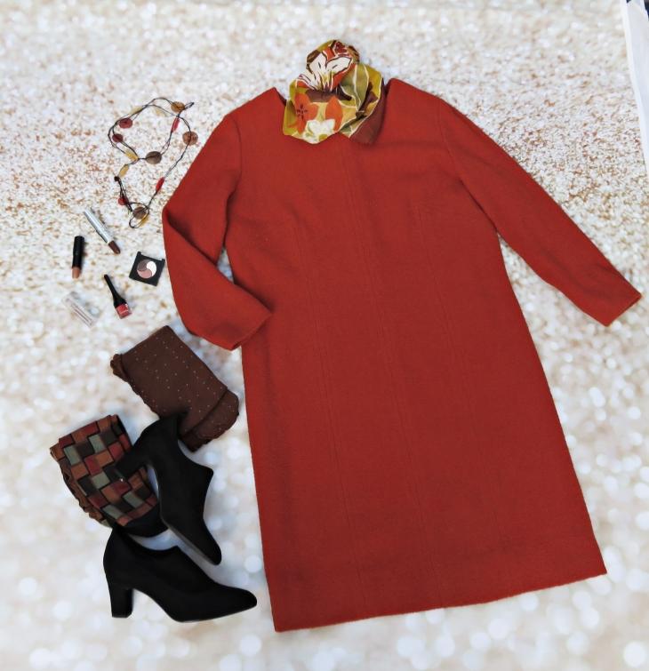 Vestido naranja 1