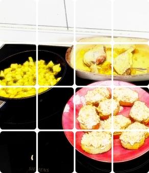 Cocina tres horas D