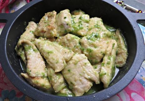 Zapatero salsa verde D