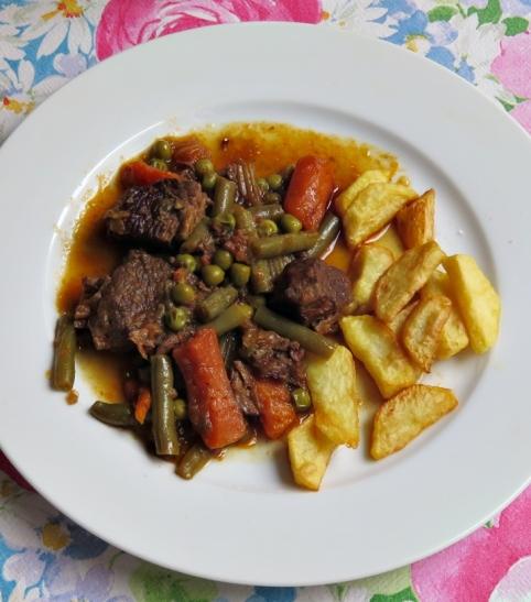 Carne hortalizas D